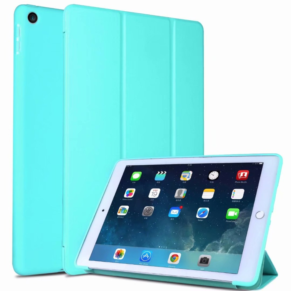 Case 2 Tablet Tri-Folding Fundas Generation IPad Shell 7 10 IPad 7th Cover 2019 For For