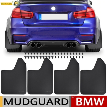 Mud Flaps Mudflaps Splash Guards Mudguards For BMW Mini Cooper Countryman Coupe 1/3/5 Series F30 F31 F20 F21 G30 F10 E39 E87 X3 image