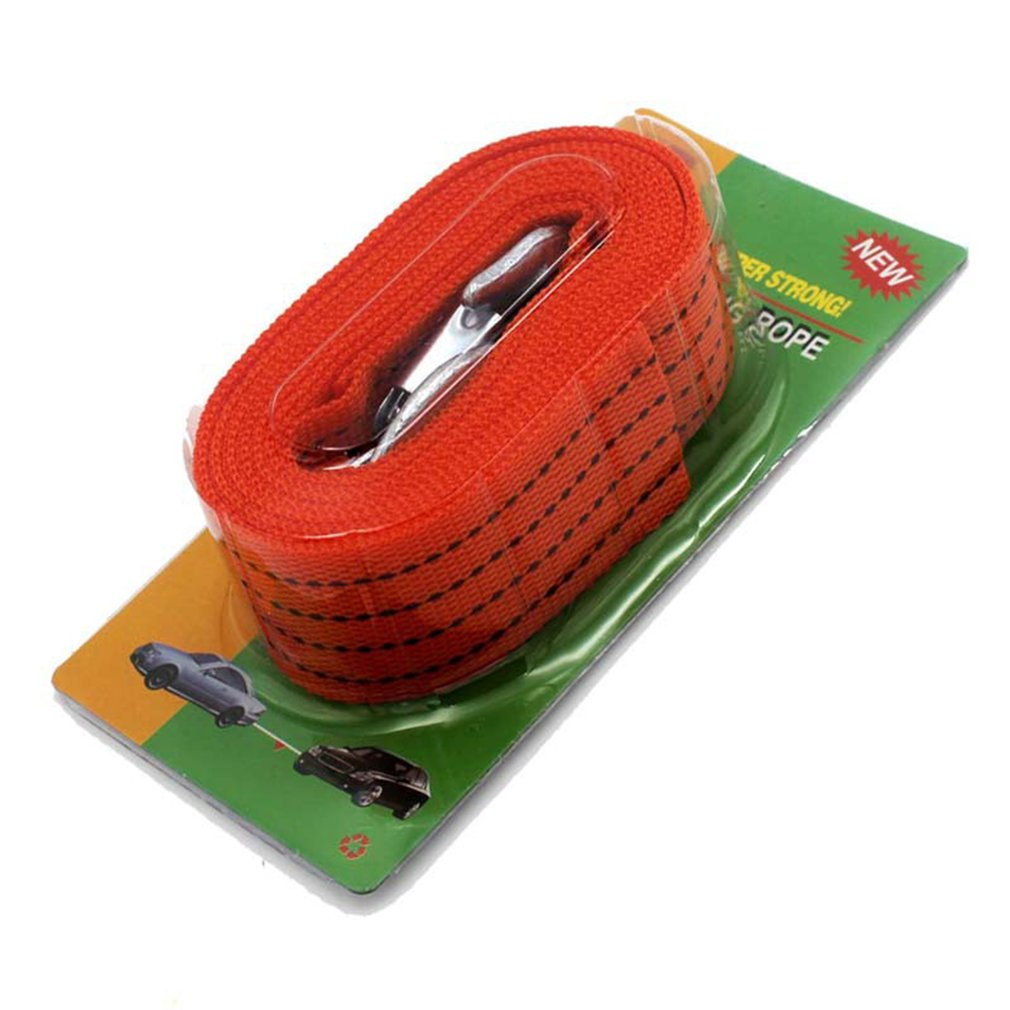 Tow-Rope Car-Towing-Cable Snatch-Strap Road-Truck Heavy-Duty Pulling 4M 3-Ton New title=