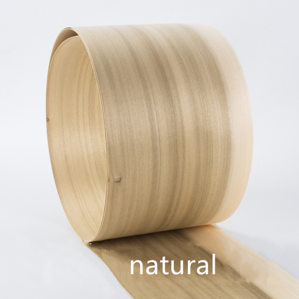 2x Natural Genuine Buxus Sinica Wood Veneer Dural Color Furniture Veneer About 15cm X 2.5m 0.4mm Thick Q/C