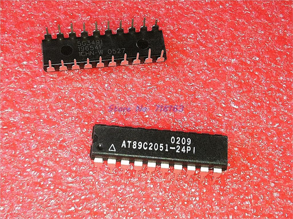 5pcs/lot AT89C2051-24PU AT89C2051-24PI AT89C2051 DIP-20 In Stock