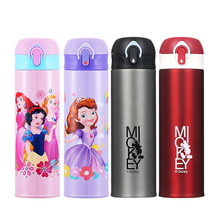 500ML Kids Thermos Bottle Water Feeding Cup 2019 Fashion Mic