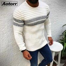 Männer Pullover 2020 Herbst Winter Mode Casual Slim Fit Baumwolle Gestrickte Herren Wolle Pullover Pullover Mann Marke Kleidung Strickwaren
