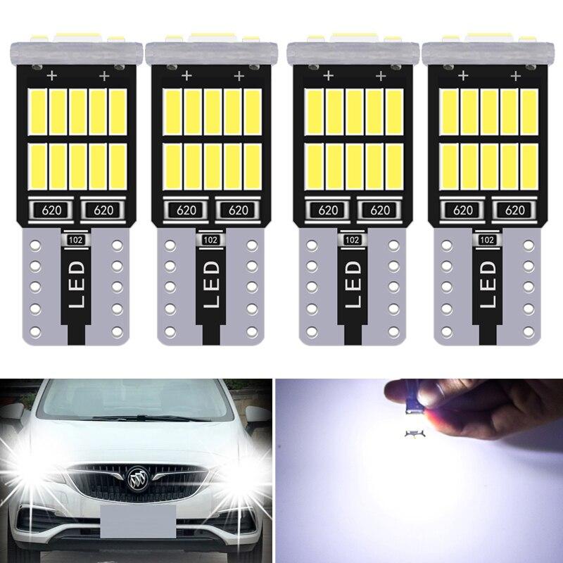 10x Car LED Light Interior W5W 168 194 Bulbs T10 4014 24SMD Flash Reading Lamp