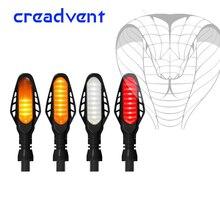 Multi função led motocicleta transformar indicadores de luz de sinal de fluxo pisca pisca pisca pisca drl circulação diurna freio lâmpada da cauda