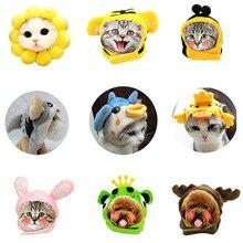 Ubrania dla kota kapelusz dla psów sukienka świąteczna Up śliczne czapki dla kota psy dla zwierzaka na halloween kapelusz kostiumowy zestawy głowy dla akcesoria dla zwierząt