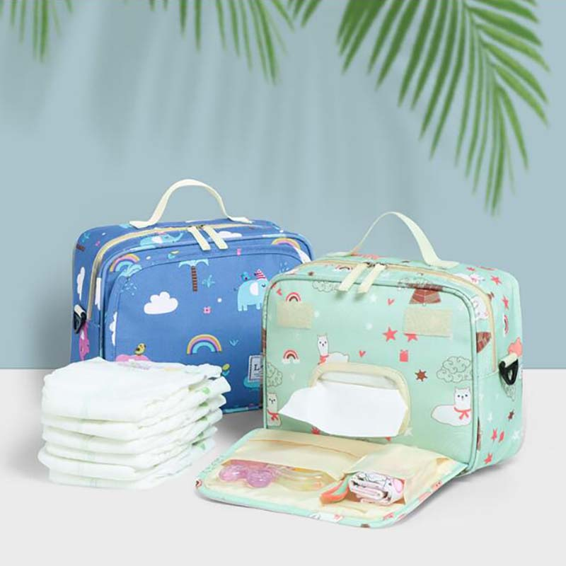Mummy Bag Multifunction Waterproof Infant Nappy Changing Diaper Bag Portable Handbag Maternity Bags BFY008