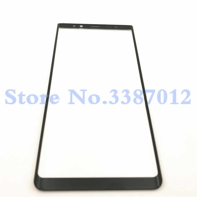 """استبدال الزجاج الخارجي عدسة لسامسونج غالاكسي ملاحظة 8 Note8 N950 N950F 6.3 """"LCD تعمل باللمس الجبهة الزجاج الخارجي لوحة"""