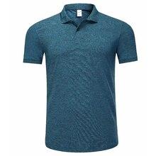 Для мужчин Гольф футболка спортивная одежда; рубашки поло Большие размеры футболка Homme летние футболки с коротким рукавом Для Мужчин's футболки Гольф одежда