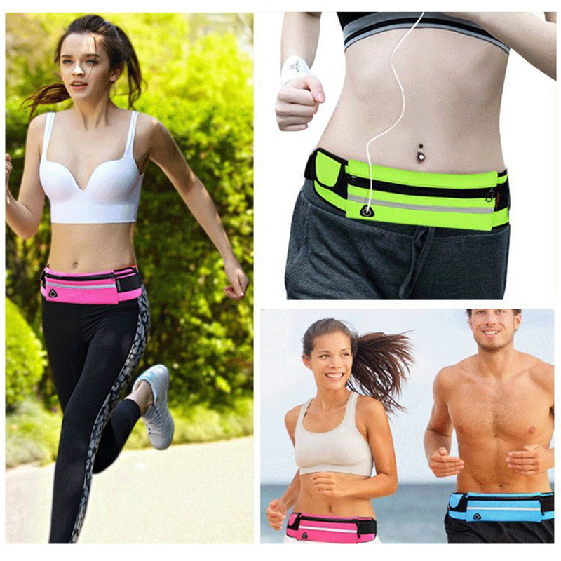 For Vivax Fly5 Lite 5.71 inch Waterproof Sport GYM Running Waist Belt Pack Phone Holder Bag For Vivax Fun S1 4.95 inch Arm Pouch