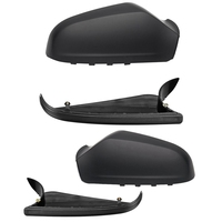 1 Pair Car Side Mirror Housing Wing Mirror Cover for Vauxhall Opel Astra H Mk5 2004 2009 Left & Right