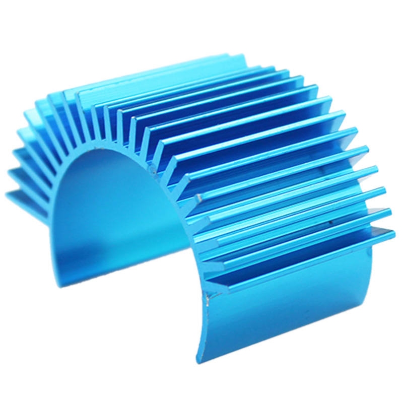 Rc Car Spare Parts 540 550 Motor Radiator For <font><b>Wltoys</b></font> <font><b>12428</b></font> 12423 A959-B A969-B A979-B A929-B Blue image