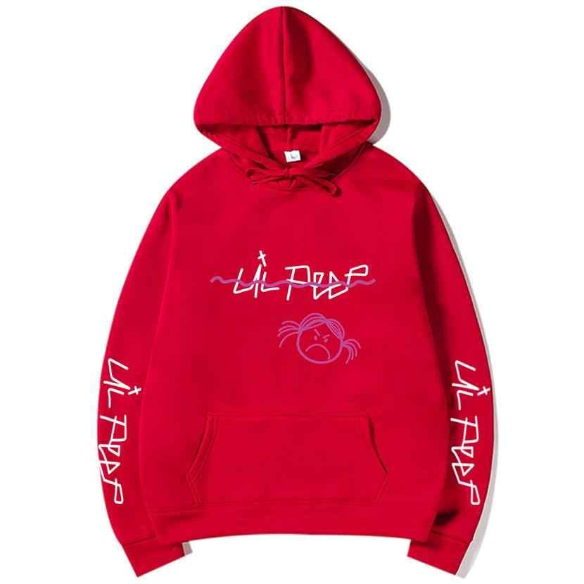 Lil Peep Hoodies Love 겨울 남성 스웨터 후드 풀오버 캐주얼 남성/여성 패션 Long Sleeve Cry Baby
