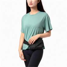 Yoga Top Crop Sports Shirt Women T-shirt Clothing Gym Top Shorts Sleeve Sports Top Women Fitness Gym Crop Elastic Top Workout fitness women top yoga shirts female sport gym top sport shirt women top yoga tank top fitness women clothing t shirt