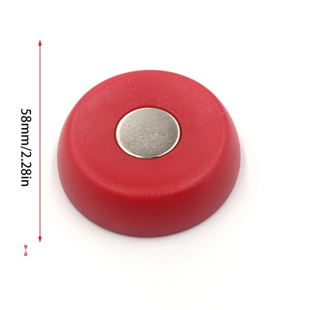Round Quilt Clothes Clip Holder Magnetic Anti-Move Buckle Fixer Holder/Unlock Device Home Travel Hotel Clip Red