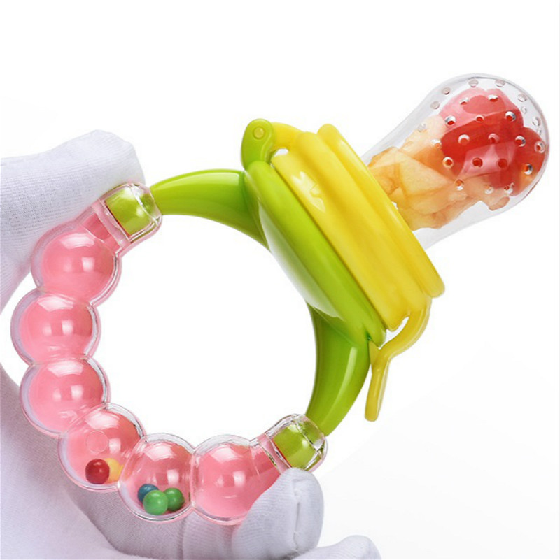 1pcs Vocalization Baby Rattles Pacifier Hand Hold Jingle Shaking Bell Lovely Hand Shake Bell Ring Toys Newborn Baby Teether Toys