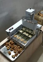 Free Shipping Automatic Donut Maker/Donut Fryer/Four rows of mini doughnuts machine|Waffle Makers| |  -