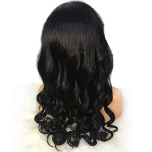 Image 5 - Alibele Brazilian Loose Wave Lace Front Human Hair Wigs 4x4 Lace Closure Wig Remy Hair Wig With Baby Hair 150 Density 13x4inch