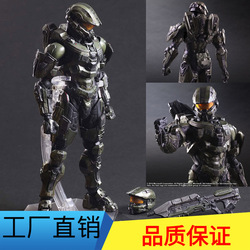 Diffuse Uitstekende Auto Model Play Arts Veranderen PA Veranderen Halo 5 Master Chief Mobiele Garage Kit