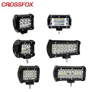 Image 1 - CROSSFOX Worklight LED 120W 300W מבול ספוט קומבו Beam 36W 60W 72W LED עבודה אור מנורת בר לoffroad 4x4 רמות טרקטור SUV