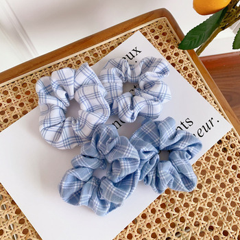 1PCS Women Printed Scrunchie Elastic Hair Bands For Girls Ponytail Holder Rubber Band Hair Rope Headwear Hair Accessories цена 2017
