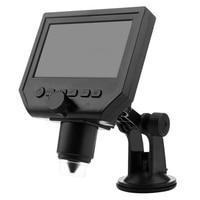 Contínua Mustool G600 1-600X 3.6MP Microscópio Digital Portátil Lupa com 4.3 polegada HD Display LCD