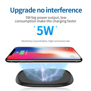 Image 4 - Joyroom cargador rápido inalámbrico para móvil, cargador de teléfono inalámbrico de 5W para QC 3,0, para iPhone 11 X XR XS Max Samsung S10 S9 Note 10 Xiaomi Mi 9