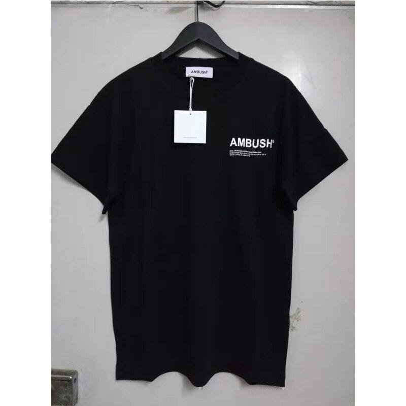 2020 New Ambush T Shirt Men Women 1:1 Quality Ambush Tshirt High Street Casual Cotton  Ambush Tee Japan Harajuku