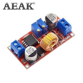 AEAK 5A DC to DC CC CV Lithium Battery Step down Charging Board Led Power Converter Lithium Charger Step Down Module XL4015 image