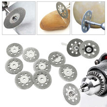 12Pcs/set Diamond Grinding Wheel Dremel Accessories Diamond Discs Circular Cutting Disc Grinding Wheel Saw Dremel Rotary Tool