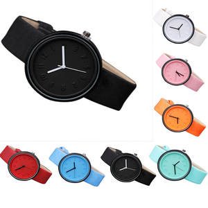 Watches Clock Belt Number Gift Quartz Canvas Girl Simple-Style Relogio Feminino Women