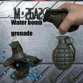 Jinming water bomb m.26A2 water gun special manual user external decompression new product spot gel water bomb gun electric water gun for jinming scar shell toy parts intelligence assembled suite
