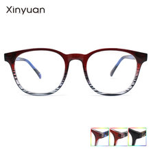 S2846 модные круглые очки с прозрачной оправой женские для близорукости