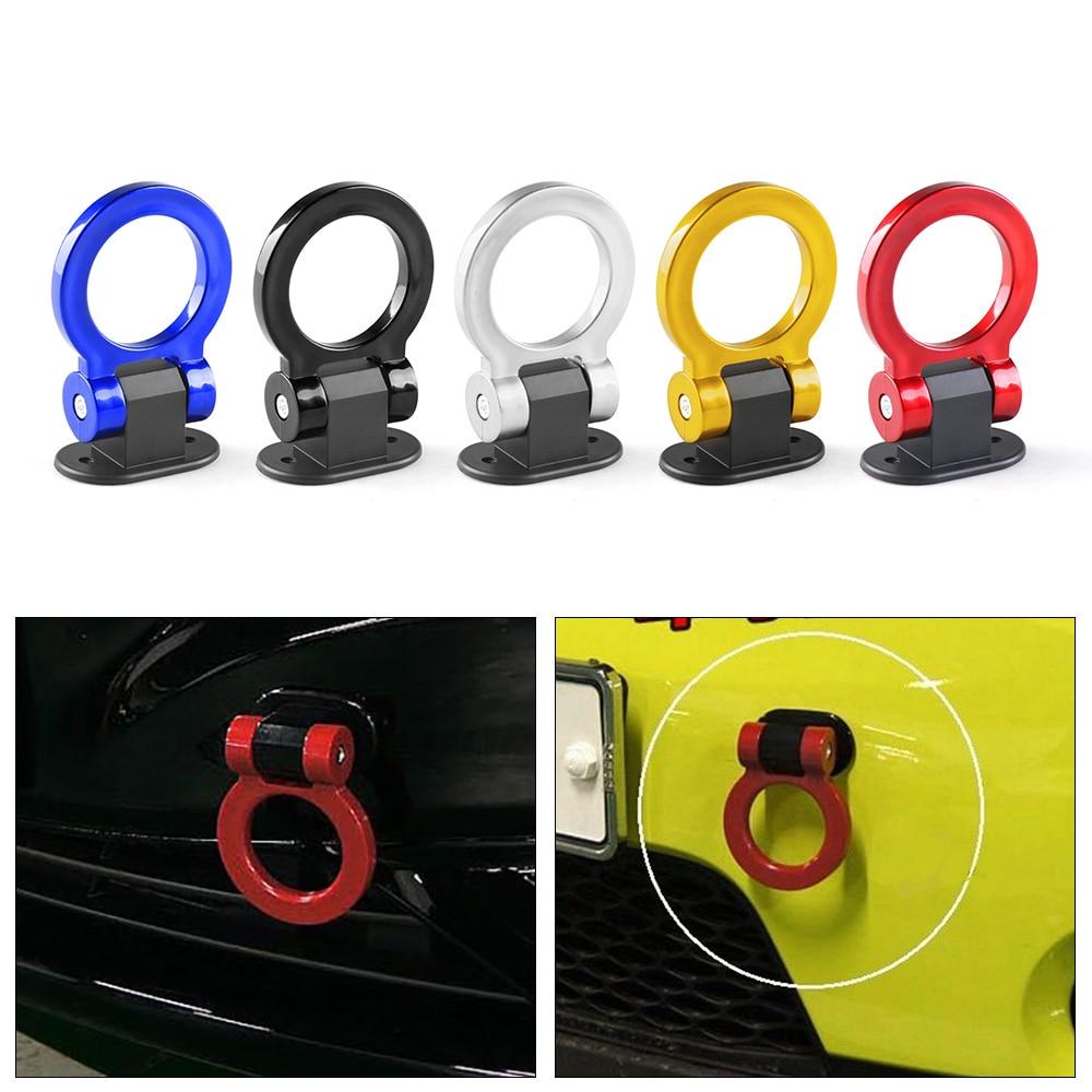 Universal ABS Bumper Car Sticker Adorn Car Simulation Tralier Tow Hook Kit Car Accessories