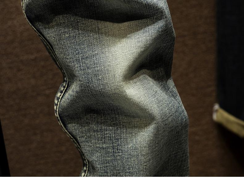KSTUN Ripped Jeans for Men Slim Fit Retro Blue Stretch 2020 Hip Hop Spring Autumn Mens Jeans Brand Destroyed Torn Men's Denim Jeans 17