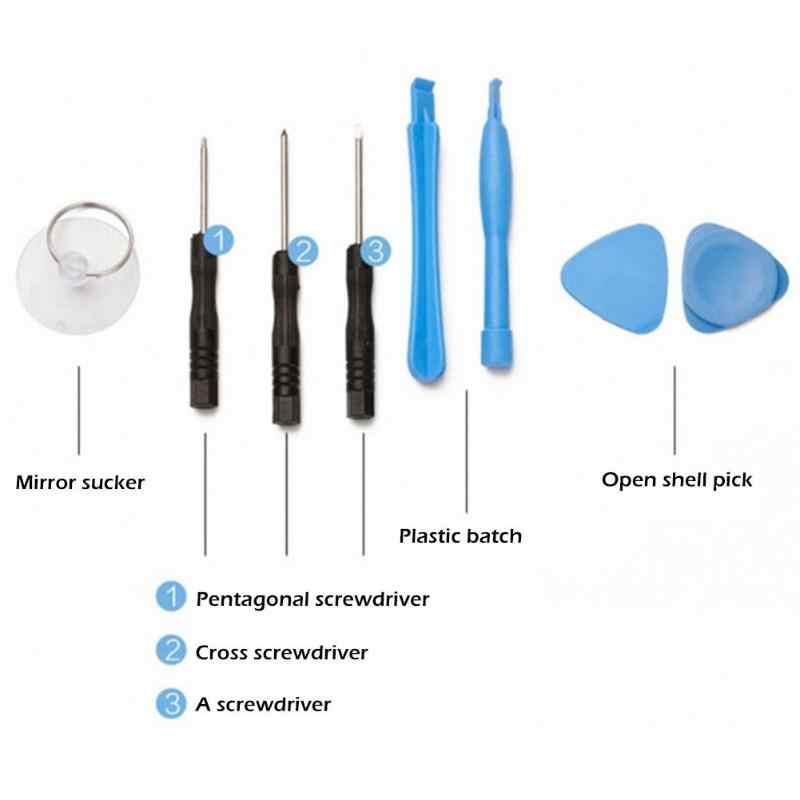 11 En 1 teléfonos móviles apertura Pry Kits de herramientas de reparación destornilladores para teléfono móvil Spudger reparación manual conjunto de herramientas para iphone Samsung Sony