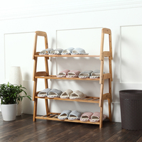 Creative stacking shoe rack economy home multi function superposition space lazy corner small shoe rack|  -