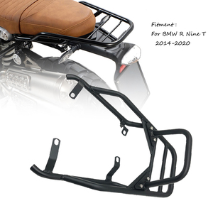 R NINE T Rear Seat Luggage Carrier Rack with Handle Grip For BMW R NINET R9T R 9 T 9T Pure Racer Scrambler 2014-2020 Motorcycle