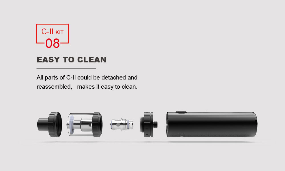 【[GIFT KIT】VAPE electronic cigarette 100W Vaptio C2 Vape pen 4.0ML&3000mAh Built in vape MOD kit vape kit atomizer 510 thread