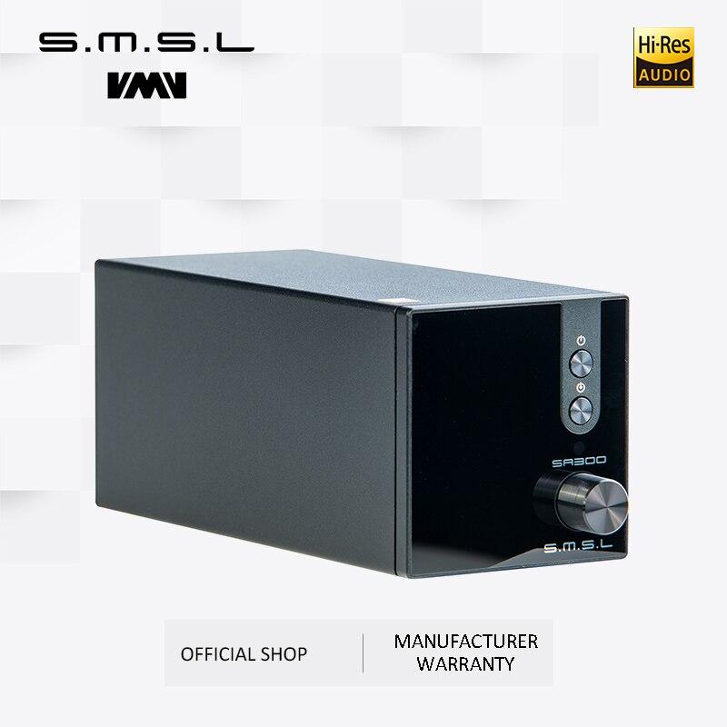 SMSL SA300 Высокая мощность Bluetooth 5,0 HiFi удаленный цифровой усилитель Настольный усилитель мощности Amp 80 Вт аналоговый