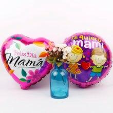 18 polegada espanhol te amos balon amor folha balões feliz cumpleanos festa de aniversário decoração baloes crianças brinquedos dia da mãe presentes 10 pçs