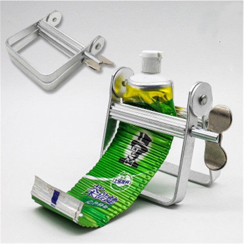 Toothpaste Squeezer Dispenser Metal Paint Tube Wringer Hand Roller Tool Wringer