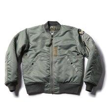 Bronson Repro USAF 1955 MA 1 veste de vol 50s hiver hommes militaire Bomber manteau