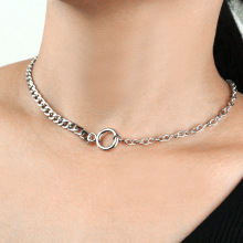 Trendy Chain Choker Collares Punk Necklace European And American Necklace For Women Jewelry