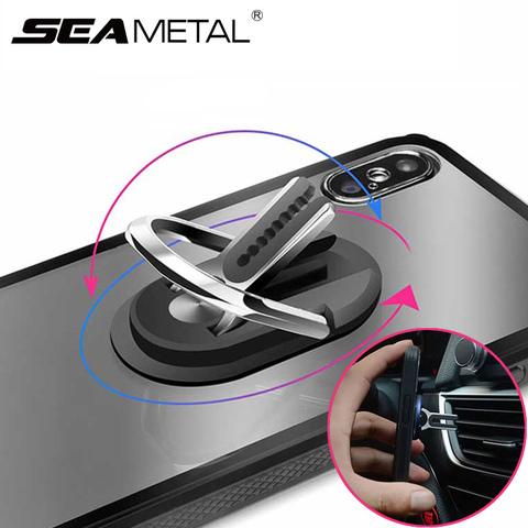Car Gadget Car Phone Holder Air Vent Car Phone Holder Rotatable Bracket Auto Mobile Phone Ring Holder Buckles Auto Accessories Pakistan