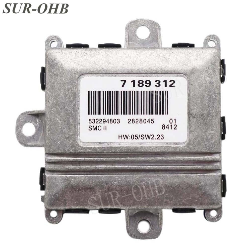 63127189312 ALC Adaptive Headlight Drive Light Control Unit 7189312 Xenon Ballast Model For E46 E90 E60 E61 E65 High Beam Block