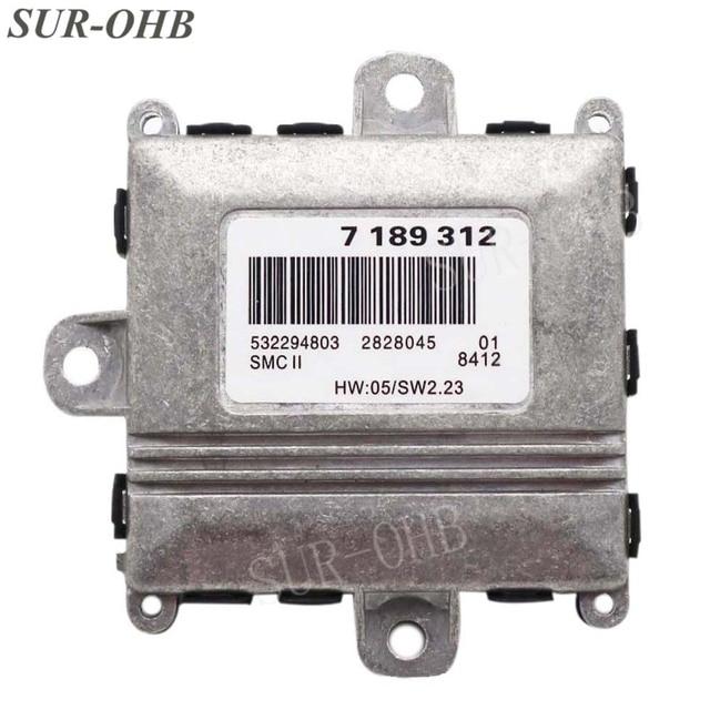 63127189312 ALC Adaptive ไฟหน้า Drive Control Unit 7189312 Xenon Ballast สำหรับ E46 E90 E60 E61 E65 high beam บล็อก