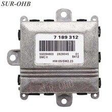 ALC Unidad de Control de luz de xenón para coche, faro delantero adaptable, modelo 63127189312, para E46, E90, E60, E61, E65, bloque de Luz De Carretera, 7189312