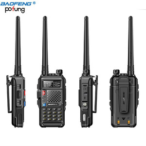 Image 3 - BaoFeng BF UVB3 Plus 8W Powerful Walkie Talkie cb ham Two Way Radio 128CH 136 174Mhz & 400 520Mhz 10KM Long Range Upgrade UV 5R