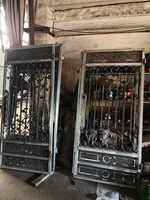 Puertas de hierro de china puertas dobles de hierro PUERTAS DE HIERRO el mejor precio para la venta hc38